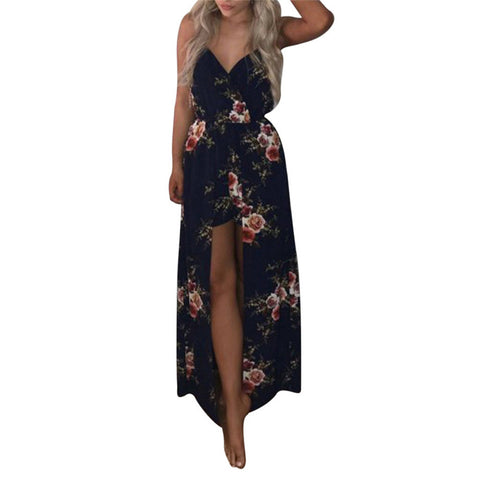 Sleeveless Flower Jumpsuit/Dress