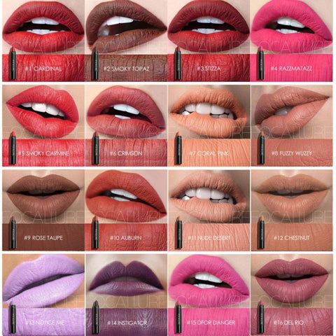 Matte Lipstick Pen Waterproof Long Lasting