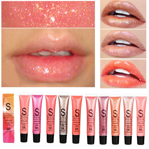 Long Lasting Moisturizer Diamond Glitter Lip Gloss