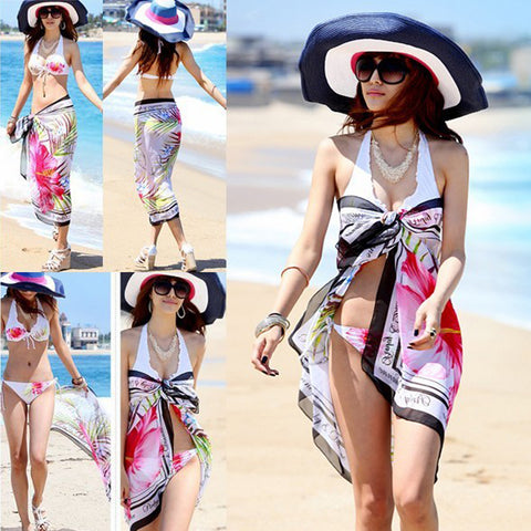 Chiffon Beach Cover-up
