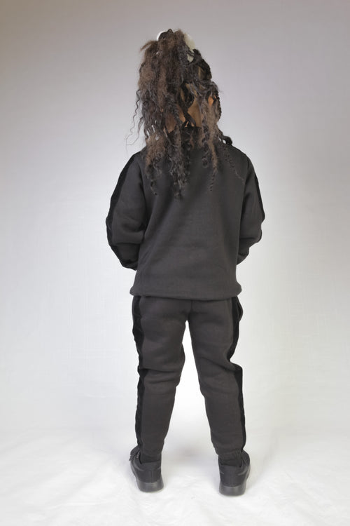 Embossed Velour Tracksuit