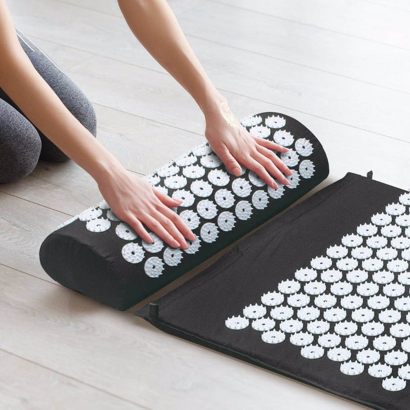 Tapis Nymphaea d'acupression - Dos / Cou / Epaules / Pieds