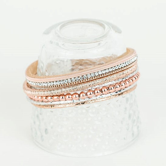 Rose Gold Layered Bracelet