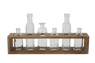 Garden Bottle Display