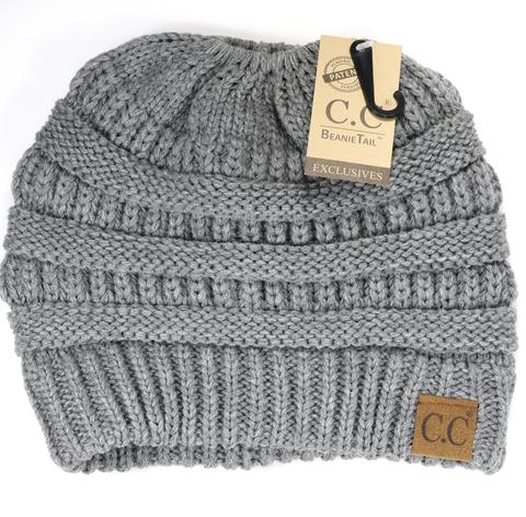 Solid Classic CC Beanie Tail - Asst Colors