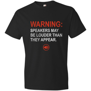Warning: Speakers