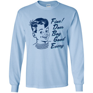 E-G-B Does Fine Long-Sleeve Youth T-Shirt
