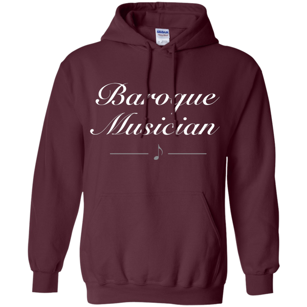 Baroque Musician Pullover Hoodie
