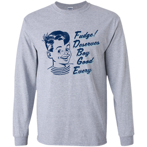 E-G-B Deserves Fudge Long-Sleeve Youth T-Shirt