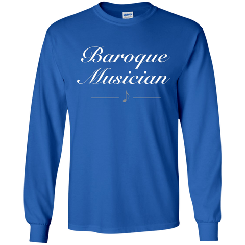 Baroque Musician Long Sleeve T-Shirt