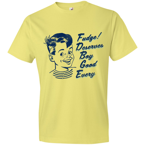 E-G-B Deserves Fudge T-Shirt