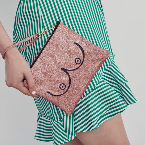 Booby bag for CoppaFeel! - Pink