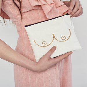 Booby bag for CoppaFeel! - White