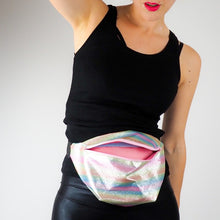 Pastel rainbow simple bumbag