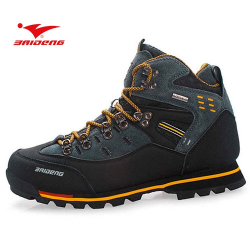 BAIDENG Men's Trekking Outdoor Boots
