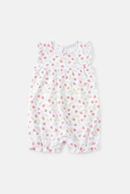 Berry Pima Girl Romper by BabyCottons