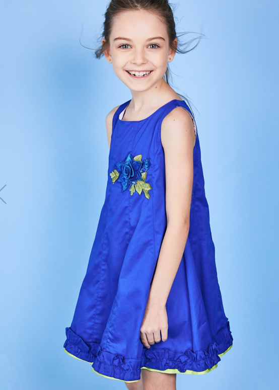 Elen Girl Dress Unico by Pan con Chocolate