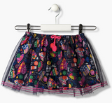 Notepad Tshirt & Rainbow skirt Set - Gigil