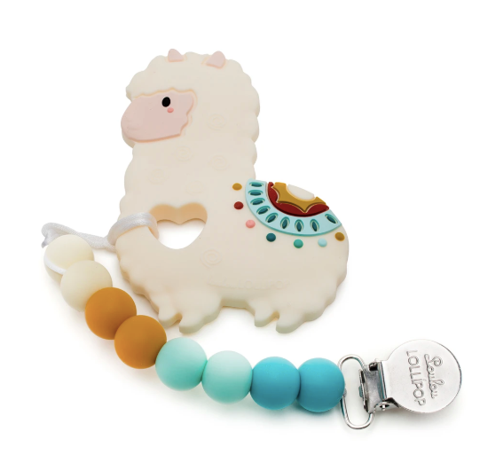 Loulou LOLLIPOP Llama Silicone Teether