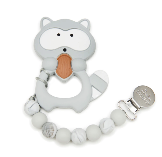 Loulou LOLLIPOP Raccoon Teether - Gigil