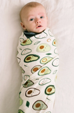 Loulou LOLLIPOP Muslin Swaddle - Avocado