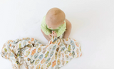 Loulou LOLLIPOP Muslin Swaddle - Farm Animals - Gigil