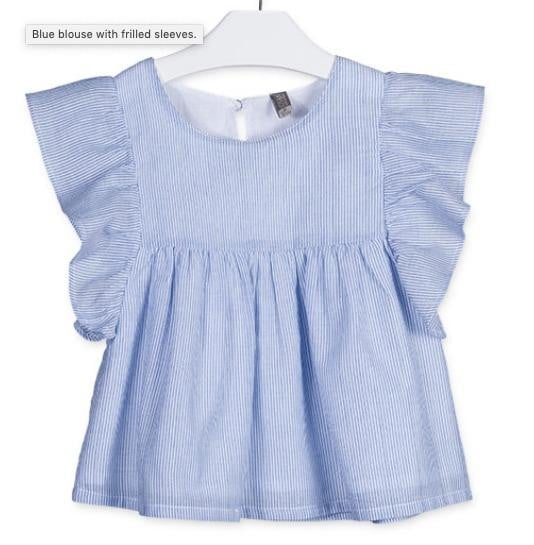 Blue blouse - Gigil