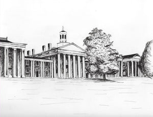 Colonnade Print by Hayley Price