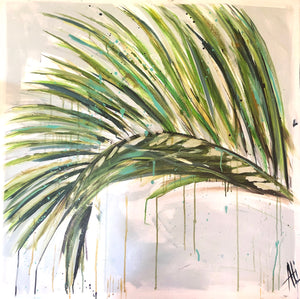 Palm by Ali Leja. 36x36