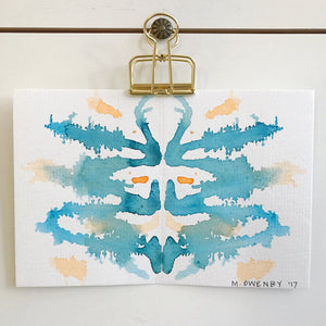 Inkblot 17 by Michelle Owenby