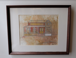Home VII by Renee Fox 12 x 15 Framed
