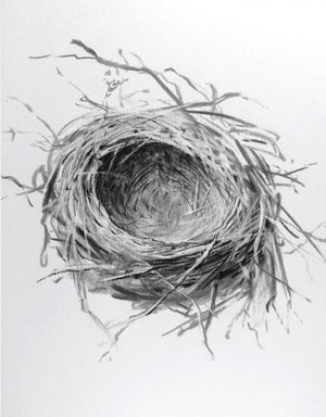 Winter Nest by Rick Sargent
