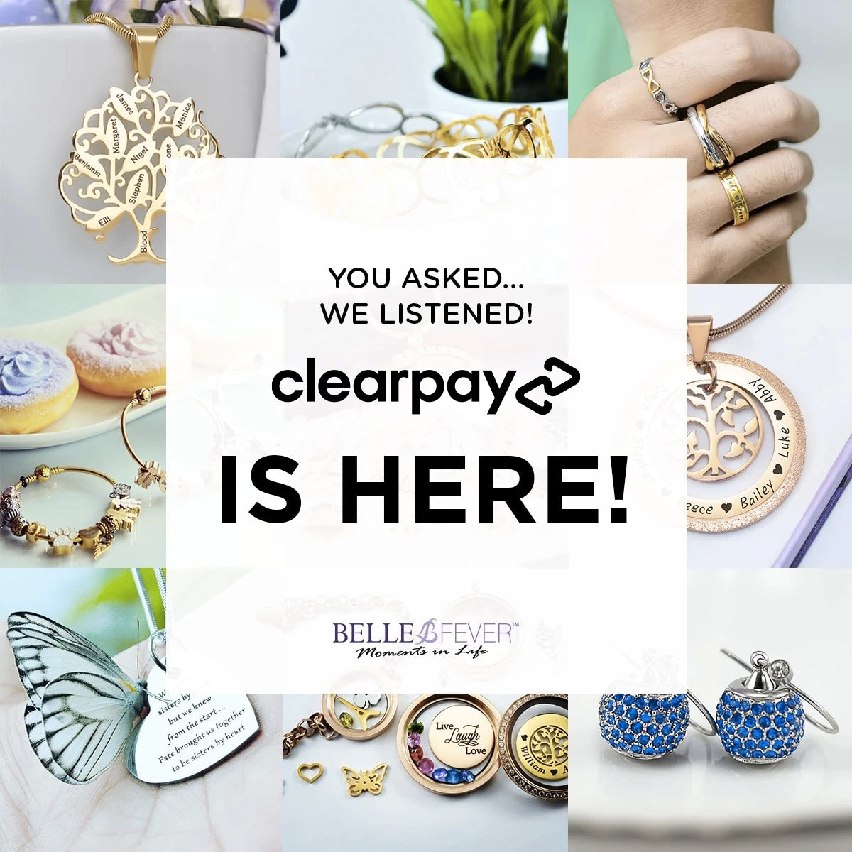 Belle Fever Clearpay