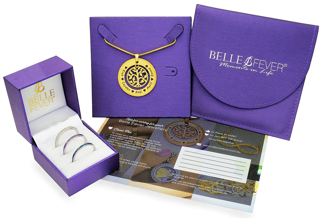 belle fever packaging