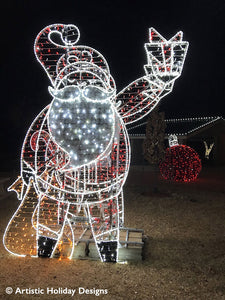 2D/3D Enchanted Santa - 9.8ft