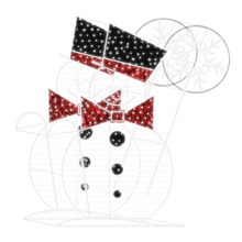 2D/3D Enchanted Snowman - 9.8ft - artistic-holiday-designs