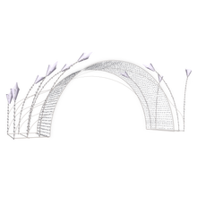 Fairytale Arch - 8.2ft - artistic-holiday-designs