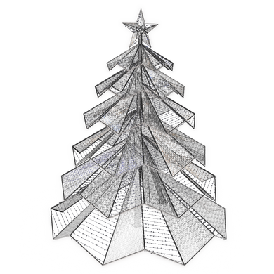 Prism Tree - 22.8ft - artistic-holiday-designs