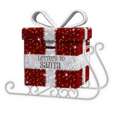 Letters to Santa Sleigh - 5.9ft - artistic-holiday-designs