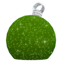 3D Medium Green Ornament - 4.6ft - artistic-holiday-designs