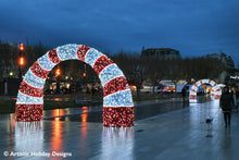 Candy Cane Arch - 11.15ft