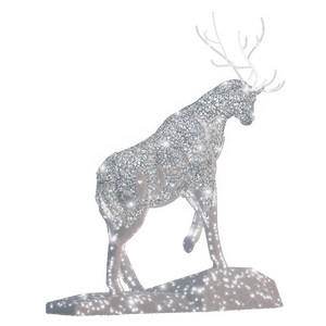 Frozen Stag - 16.1ft - artistic-holiday-designs