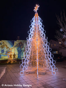 Perle Tree in Gold -  8 panels - 19.68ft