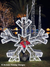 Majestic White Snowflake - 6.5ft
