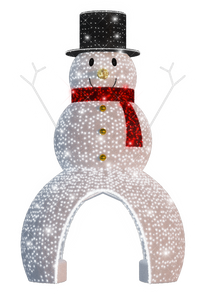 Walk Thru Snowman - 19.68ft - artistic-holiday-designs