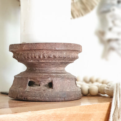 Wooden Candle Holder - Design 4