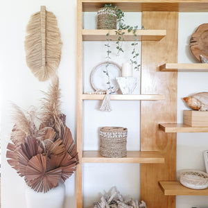 Heika Leaf Wall Decor