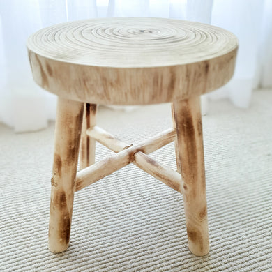 Willow Stool - Medium round