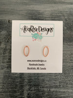 Rose Gold Oval