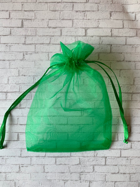Sheer Organza Jewelry Bag
